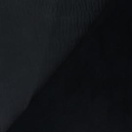 Peau d'Agneau Cuir Véritable Sauvage - Gris de minuit