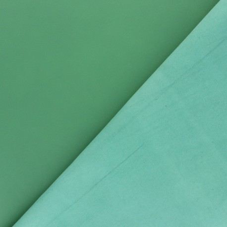 Peau d'Agneau Cuir Véritable - vert feuille