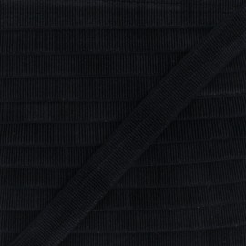 18 mm Striped Lurex Lingerie Elastic Bias - Light pink x 1m