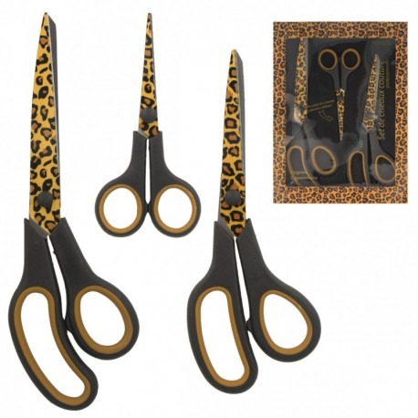 Sewing scissors kit - cow