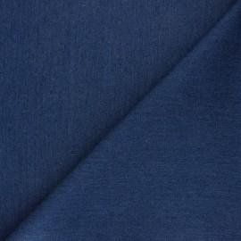 Lurex Jeans fabric - blue Babe x 10cm