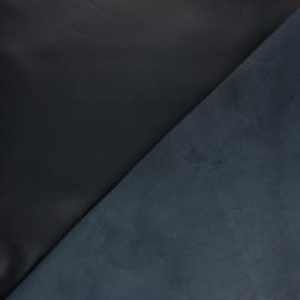 Peau d'Agneau Cuir Véritable Chuck - Bleu nuit