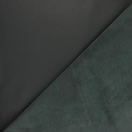 Peau d'Agneau Cuir Véritable Rock - Gris souris