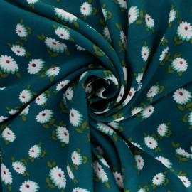 Tissu Viscose Laurette - Noir x 10cm