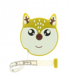Retractable measuring tape - green Deer
