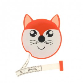 Retractable measuring tape - orange Fox