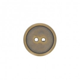 Polyester Metalliz button - bronze