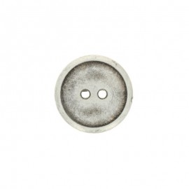 Bouton polyester Metallizz - bronze