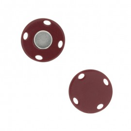 Bouton aimanté Ima 23 mm - marron