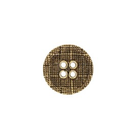 Metal Alivio button - silver