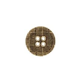 Bouton métal Alivio - argent