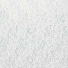 Tissu Dentelle Méria - écru x 10cm