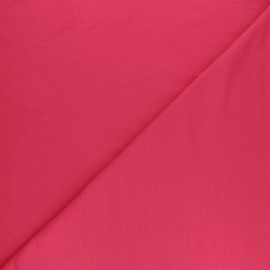 Plain Modal French Terry Fabric - red x 10cm