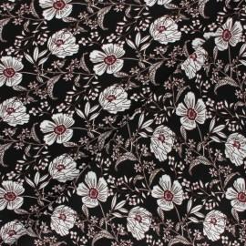 Tissu viscose Adonis - rose x 10cm