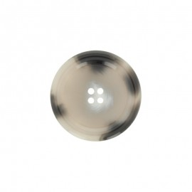 Bouton polyester Minéral - quartz