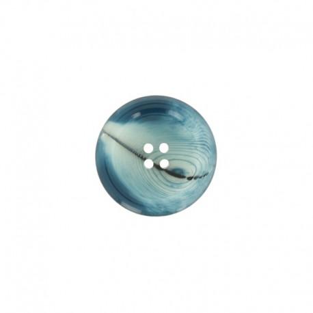 Polyester Button Minéral - onyx