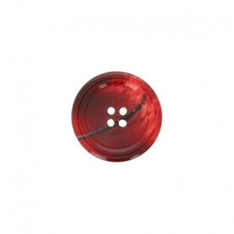 Polyester Button Minéral - black