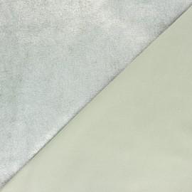 Stretch Genuine Leather - Silver Powder Magisco