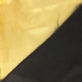 Stretch Genuine Leather -  Gold/black Metal Magisco