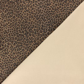Genuine Stretch Leather - Silver/Black Serpente Magisco