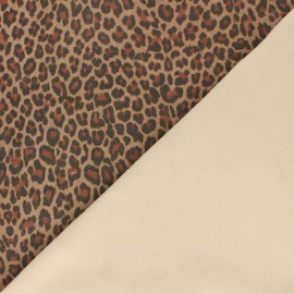 Genuine Stretch Leather - Beige Baby Leo Magisco