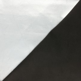 Stretch Genuine Leather -  Silver/black Metal Magisco