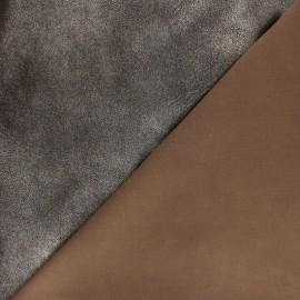 Stretch Genuine Leather - Gold/Black Powder Magisco