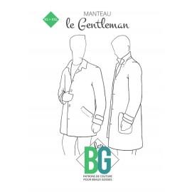 Patron Manteau Homme Les BG - Le Gentleman