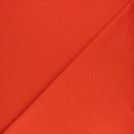 Plain french terry fabric - sky blue x 10cm