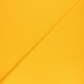 Plain french terry fabric - curry x 10cm
