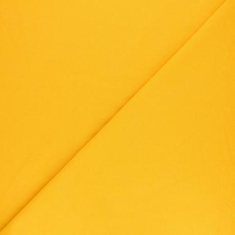 Tissu sweat léger uni - Limoncello x 10cm