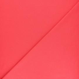 Tissu jersey uni - moutarde x 10cm