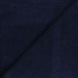 Tissu éponge jersey - anthracite x 10cm