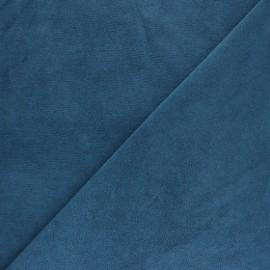 Tissu éponge jersey - capucine x 10cm
