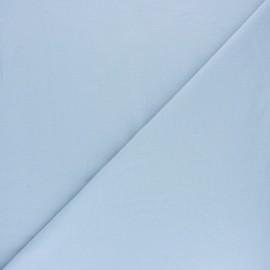 Tissu sweat molletonné uni - Écru x 10cm