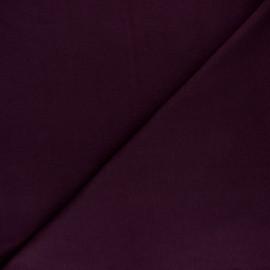 Tissu sweat molletonné uni - Bleu roi x 10cm