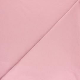 Plain sweatshirt fabric - Eggplant x 10cm