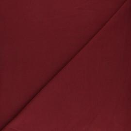 Tissu sweat molletonné uni - Eau de rose x 10cm