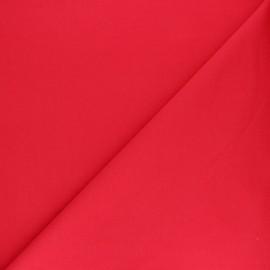 Tissu sweat molletonné uni - Lie de vin x 10cm