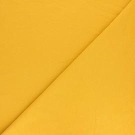 Plain sweatshirt fabric - Yellow x 10cm