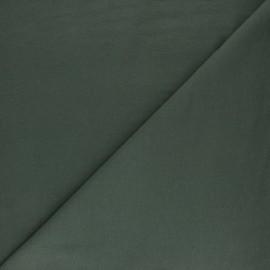 Plain sweatshirt fabric - Avocado x 10cm