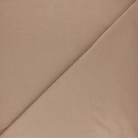 Plain sweatshirt fabric - Pine green x 10cm