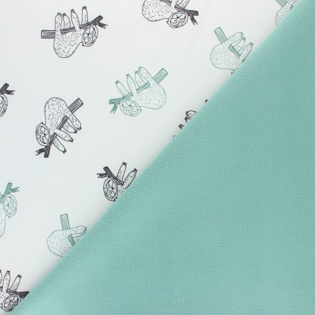 Tissu Softshell Cherry - gris x 10cm