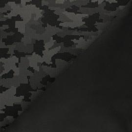 Reflective softshell fabric - royal blue Equalizer x 10cm