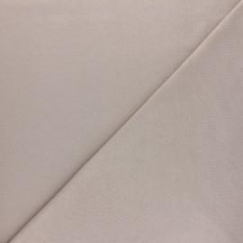 Tissu interlock uni - blanc x 10cm