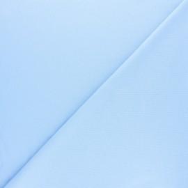 Tissu interlock uni - mint x 10cm