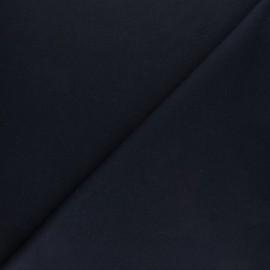 Plain interlock fabric - black x 10cm