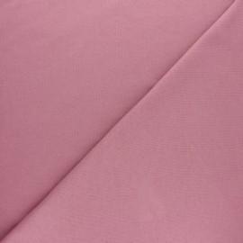Tissu interlock uni - noir x 10cm