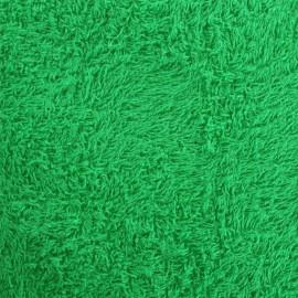 Tissu éponge jaune vert gazon