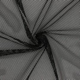 Tissu filet - gris x 10cm